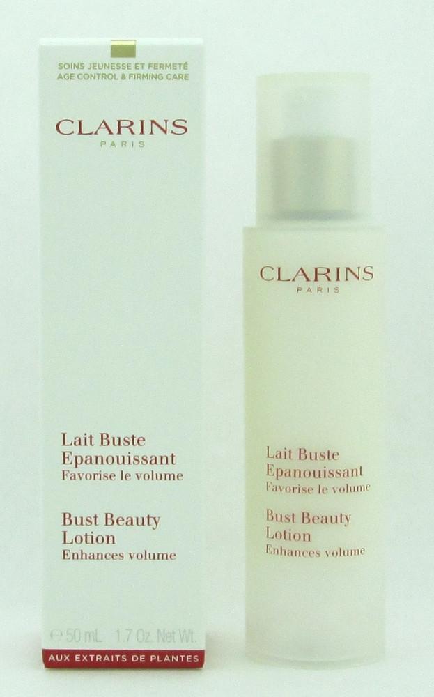 Clarins Bust Beauty Lotion Enhances Volume 50 ml./ 1.7 oz. New Packaging NIB