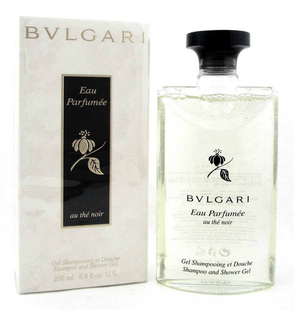 Bvlgari Eau Parfumee Au the Noir 6.8 oz Shampoo and Shower Gel Unisex New in Box