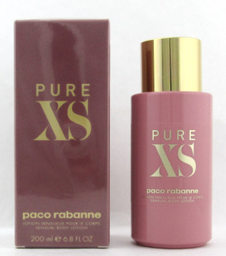 PURE XS for Her by Paco Rabanne Body Lotion 200 ml./ 6.8 oz. New Sealed