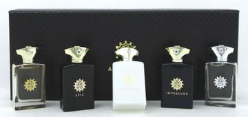 Amouage Men's Miniature SET: 0.3 oz.(7.5 ml.) x 5  EDP Splash. New Sealed Box