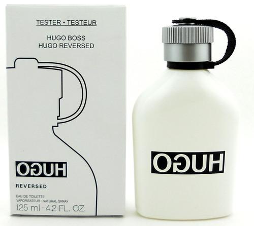 Hugo Reversed Cologne by Hugo Boss 4.2 oz EDT Spray Tester. New.