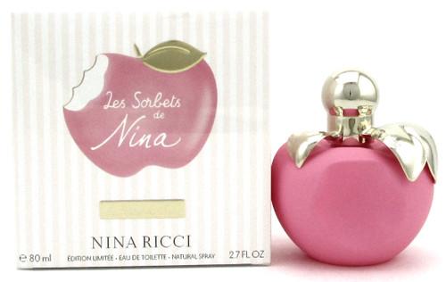Les Sorbets de Nina by Nina Ricci 2.7 oz. Eau de Toilette Spray for Women. New