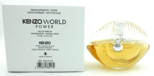 Kenzo World Power Perfume by Kenzo 2.5 oz Eau De Parfum Spray Tester with Cap