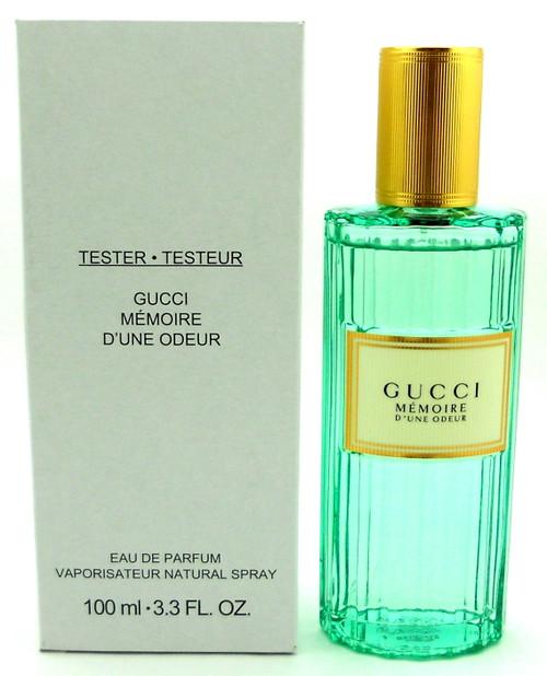 Gucci Memoire D'une Odeur Eau de Parfum Spray 3.3 oz. New Tester with Cap