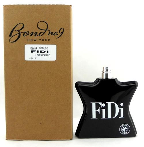 Bond No 9 FiDi 3.3 oz /100 ml. Eau De Parfum Spray Tester No Cap. Never used