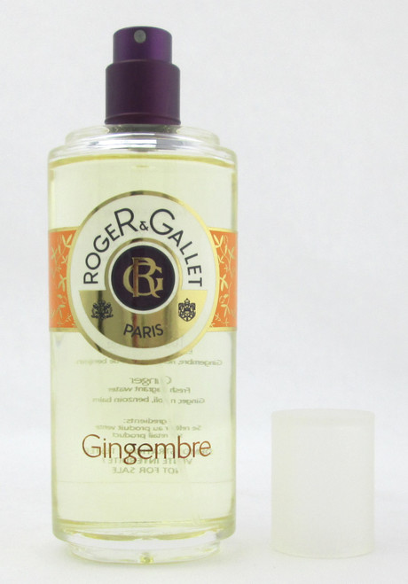 R & G Gingembre Fragrant Water Spray 100 ml./ 3.4 oz. Tester no Top