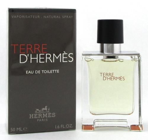 Terre D'Hermes by Hermes 1.6 oz. Eau De Toilette Spray for Men. Brand new.