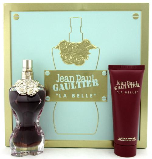 Jean Paul Gaultier La Belle 1.7 oz. EDP Spray + 2.5 oz. B/Lot. New Set for Women
