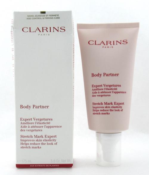 Clarins Body Partner Stretch Mark Expert Cream 175 ml./ 5.8 oz. New Damaged Box