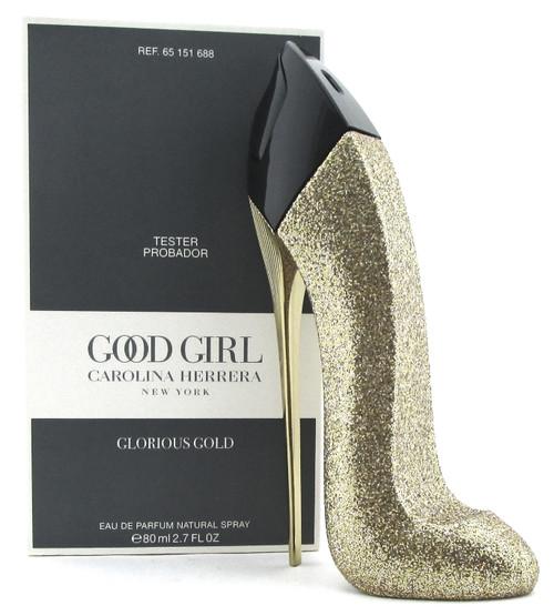 Good Girl Glorious Gold by Carolina Herrera 2.7 oz. EDP Spray Women. New Tester