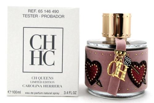 CH QUEENS Perfume by Carolina Herrera 3.4 oz. EDP Spray for Women. New Tester