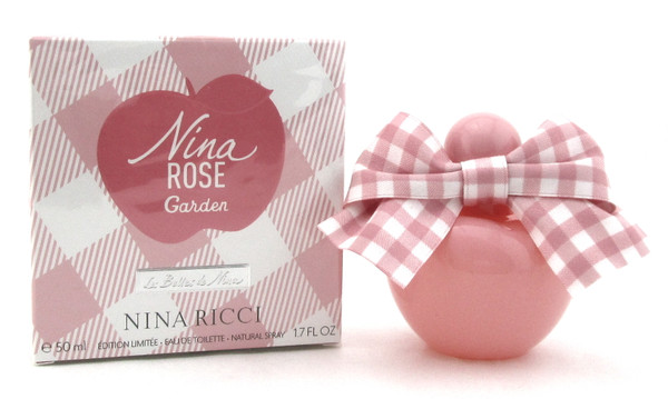 Nina Rose Garden by Nina Ricci 1.7 oz. Eau de Toilette Spray for Women. New Sealed