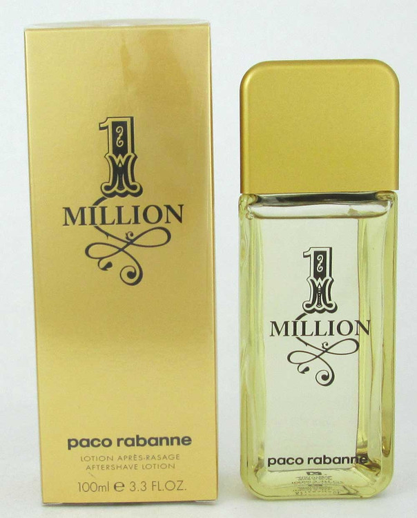 1 Million by Paco Rabanne Aftershave Lotion 3.3 oz./100 ml.for Men