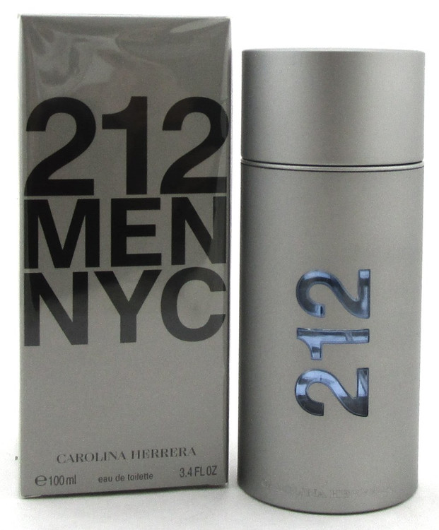212 MEN NYC by Carolina Herrera Eau De Toilette Spray 3.4 oz./100 ml.