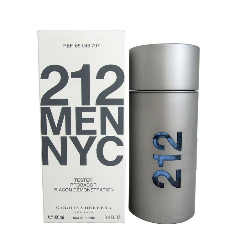 212 Men NYC Carolina Herrera 3.4oz Tester | Wholesale