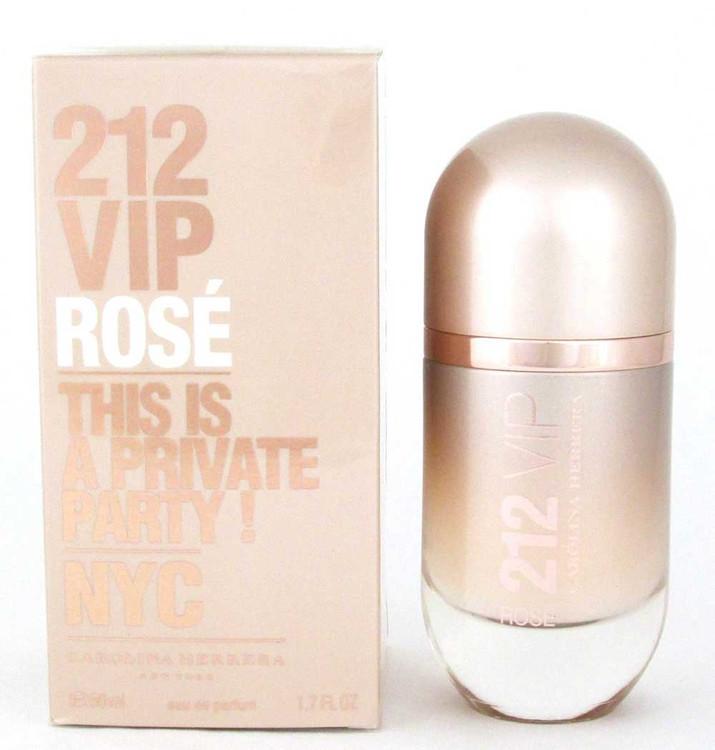 212 VIP Rose by Carolina Herrera EDP Spray 1.7 oz.Women. NIB.Sealed