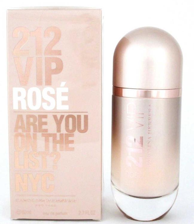 212 VIP Rose by Carolina Herrera EDP Spray 2.7 oz./ 80 ml.Women. NIB
