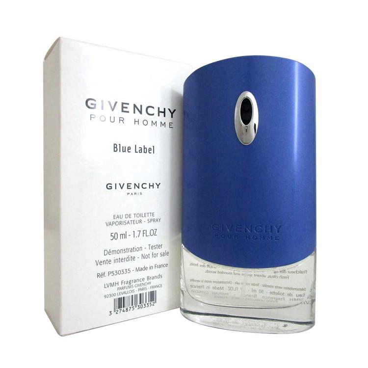 Blue Label by Givenchy Eau De Toilette Spray 1.7 oz For Men *Tester