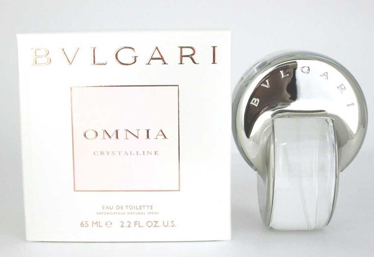 Bvlgari Omnia Crystalline by Bvlgari Eau De Toilette Spray 2.2 oz.