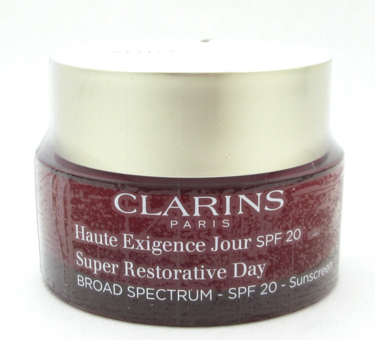 Clarins Super Restorative Day Cream SPF 20 1.7 oz/50 ml All Skin Types NIB