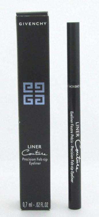 Givenchy Liner Couture Precision Felt Tip Eyeliner  #1 Black 0.02 oz