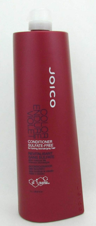 Joico Color Endure Violet Conditioner Sulfate Free 33.8 oz New