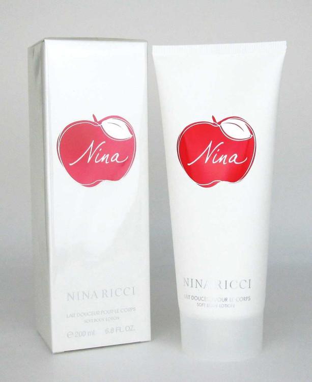 Nina by Nina Ricci Soft Body Lotion 6.8 oz./ 200 ml.