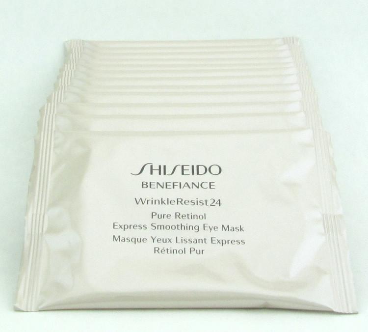 Shiseido Benefiance Wrinkle Resist 24 Pure Retinol Express Smoothing Eye Mask 12 Pack