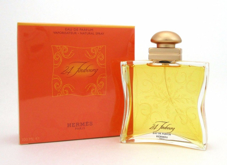 24 Faubourg by Hermes Eau de Parfum Spray 3.3 oz.Women New Sealed Box