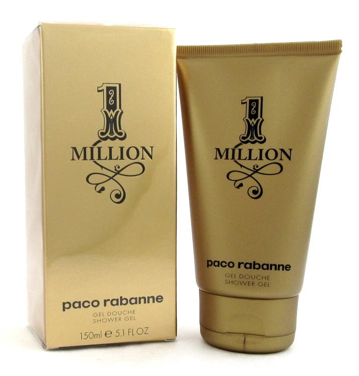 1 Million by Paco Rabanne 5.1 oz. / 150 ml. Shower Gel for Men. New Box. Sealed.