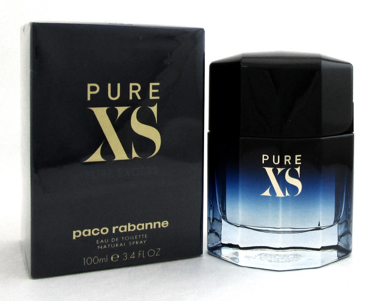 PURE XS by Paco Rabanne Cologne 3.4 oz. EDT Spray for Men. Brand New. Sealed Box