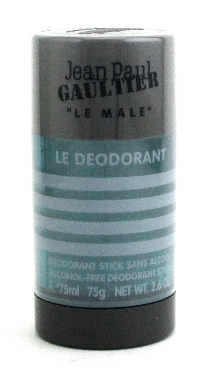 Jean Paul Gaultier Le Male Alcohol Free Deodorant Stick 2.6oz.for Men.New.Sealed