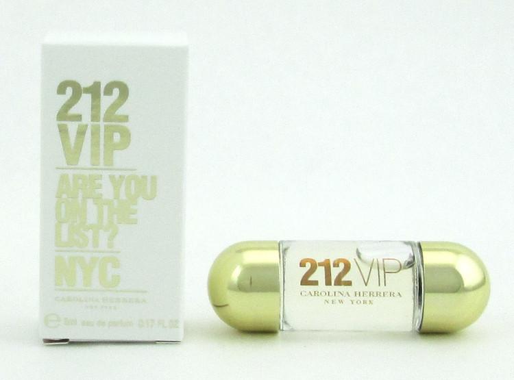 212 VIP Are You On The List? NYC Eau De Parfum Splash 5 ml./ 0.17 oz. Mini
