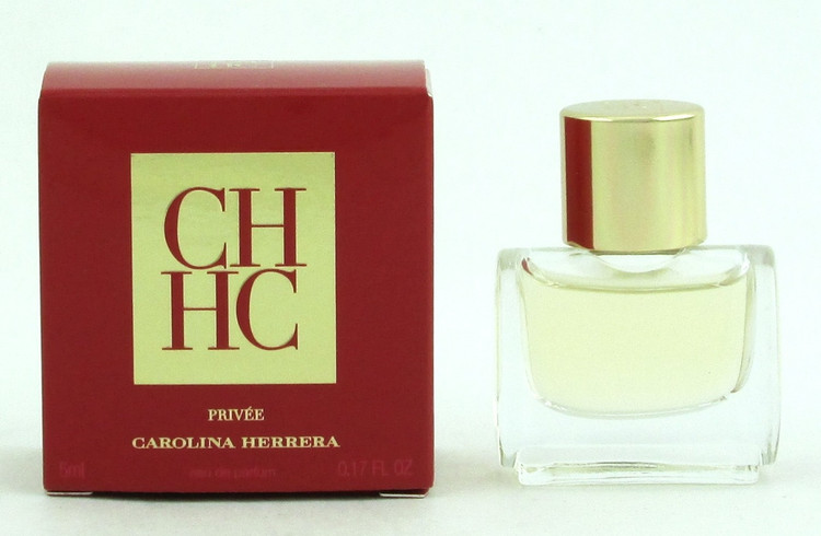 CH PRIVE Perfume Carolina Herrera 5 ml Eau de Parfum SPLASH Miniature for Women