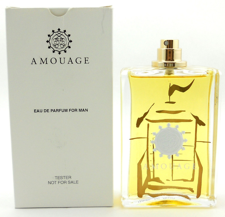 Beach Hut Man Cologne by Amouage 3.4 oz. Eau de Parfum Spray Tester.No Cap.