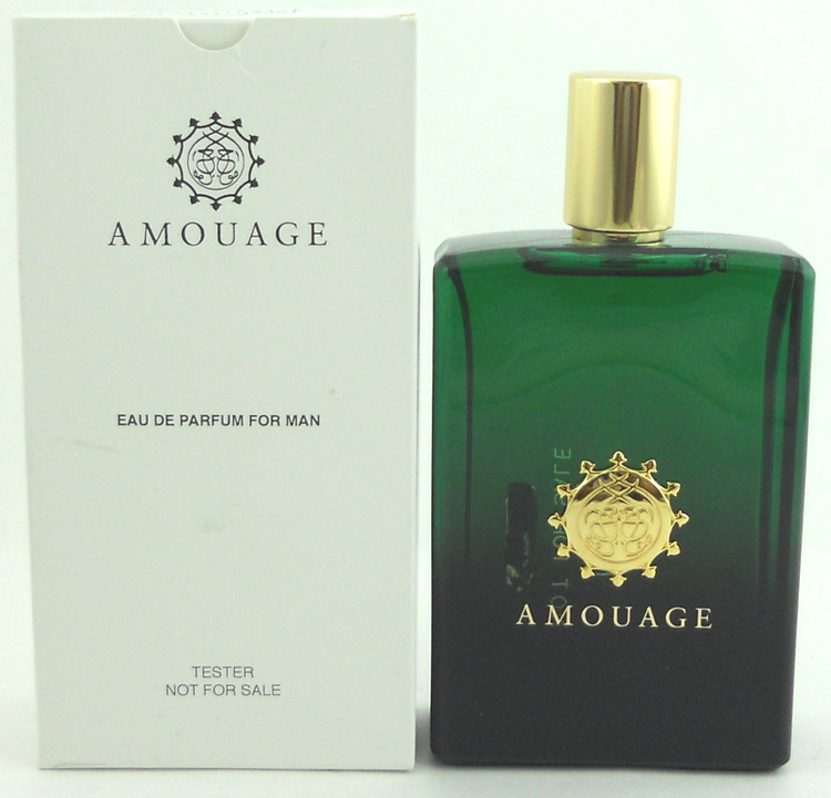 Epic Man Cologne by Amouage 3.4 oz. Eau de Parfum Spray Tester for Men. No Cap.