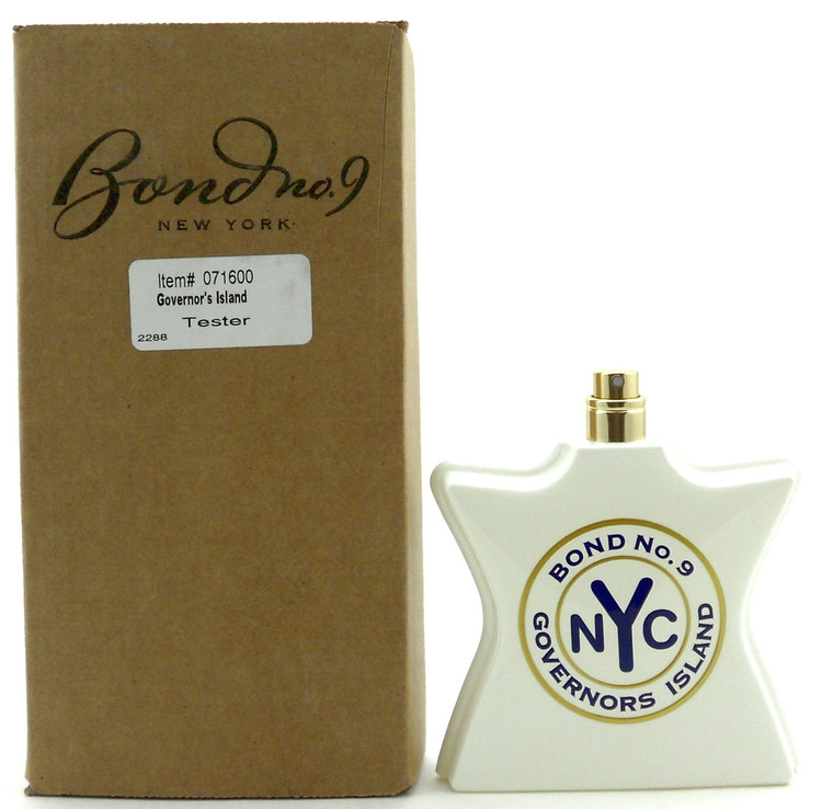 Bond No 9 New York Governors Island 3.3 oz.EDP Spray Tester.No Cap.