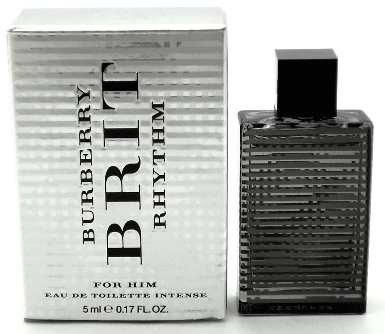 Burberry Brit Rhythm for Him Eau de Toilette Intense Mini 5 ml. Splash