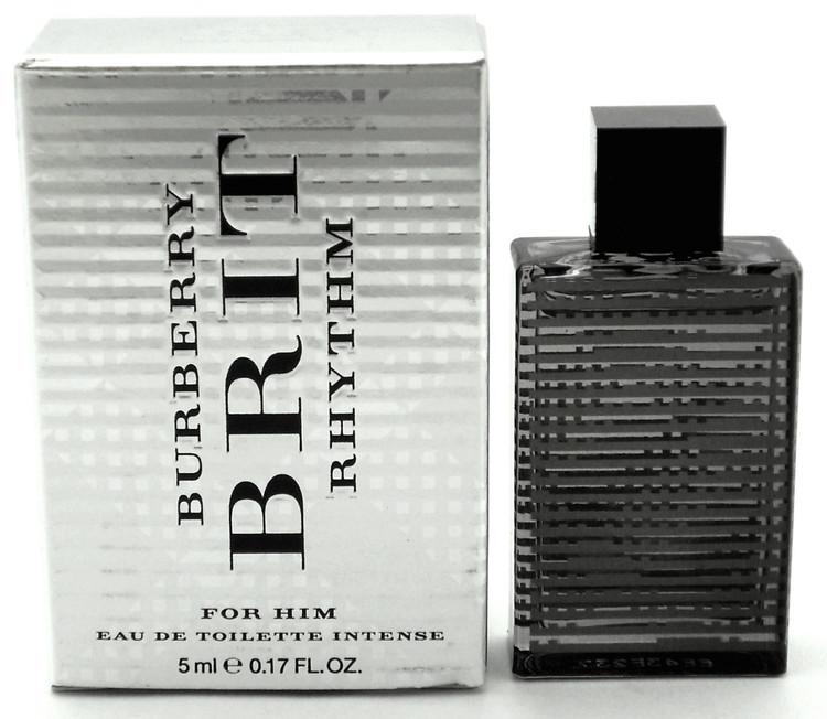 Burberry Brit Rhythm for Him Eau de Toilette Intense Mini 5 ml. Splash