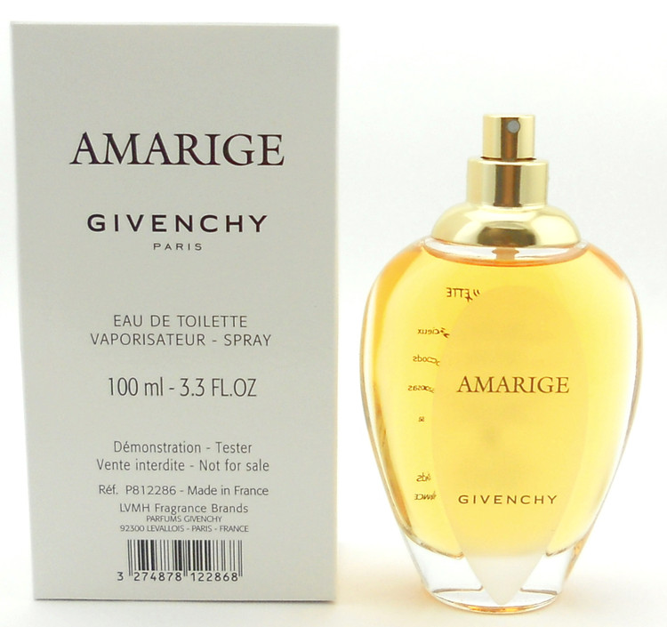Amarige by Givenchy Eau De Toilette Spray for Women 3.3 oz. Tester. New. No Top.