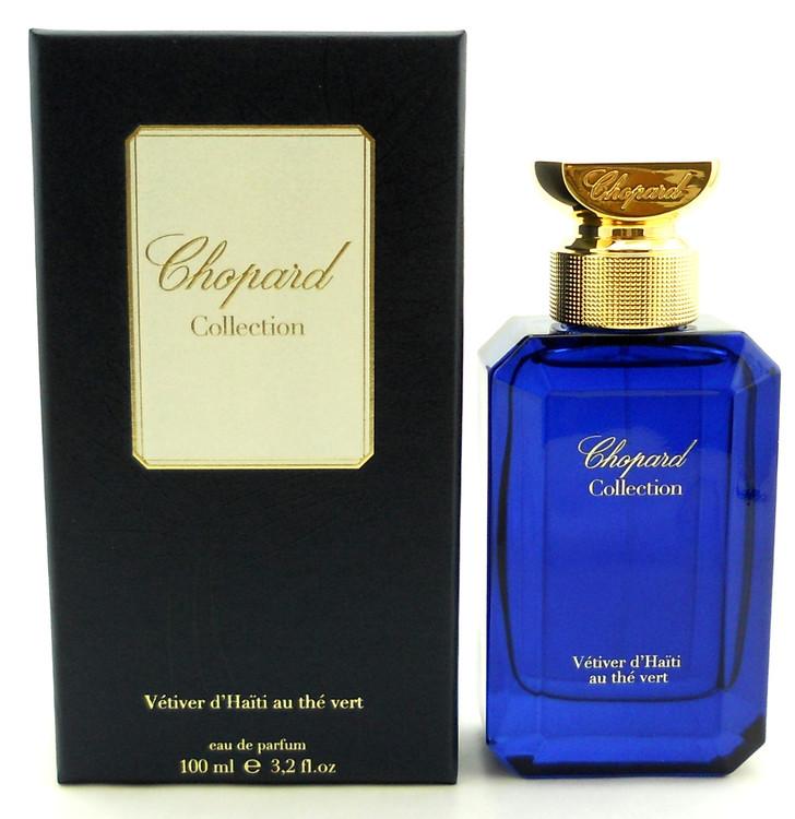 Vetiver d'Haiti au de Vert Perfume by Chopard 3.2 oz EDP Spray NIB.