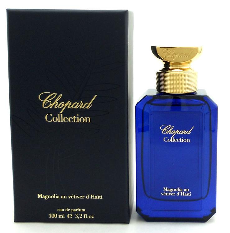 chopard Collection Magnolia au Vetiver d'Haiti Perfume 3.2 oz EDP Spray. NIB.