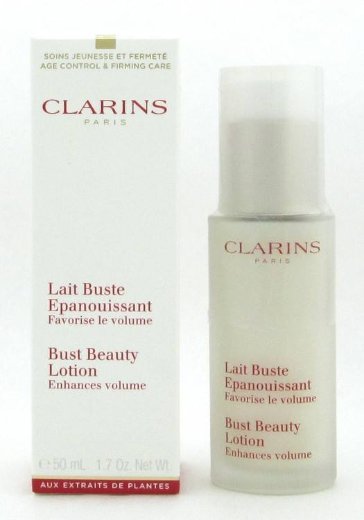 Clarins Bust Beauty Lotion Enhanes Volume 50 ml./ 1.7 oz. NEW Sealed Bottle