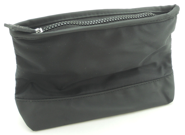 "BIOTHERM HOMME Black 9""x 6""x 3"" Toiletry Travel Cosmetic Bag. New."