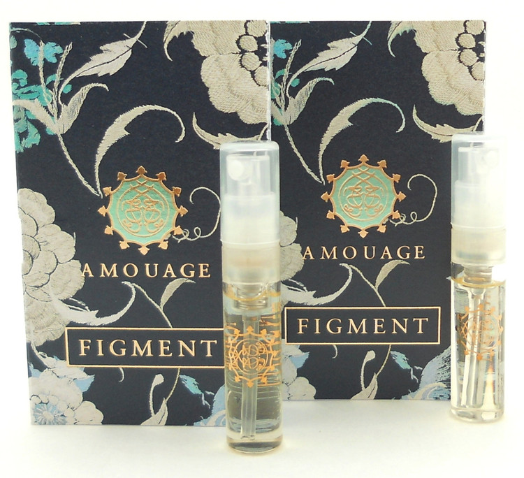 Amouage FIGMENT WOMAN EDP EDP 2ml Vial Spray New With Card. LOT of 2