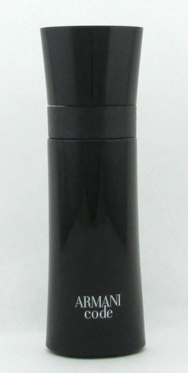 Armani Code by Giorgio Armani Eau De Toilette Spray for Men 75 ml./ 2.5 oz. NO BOX
