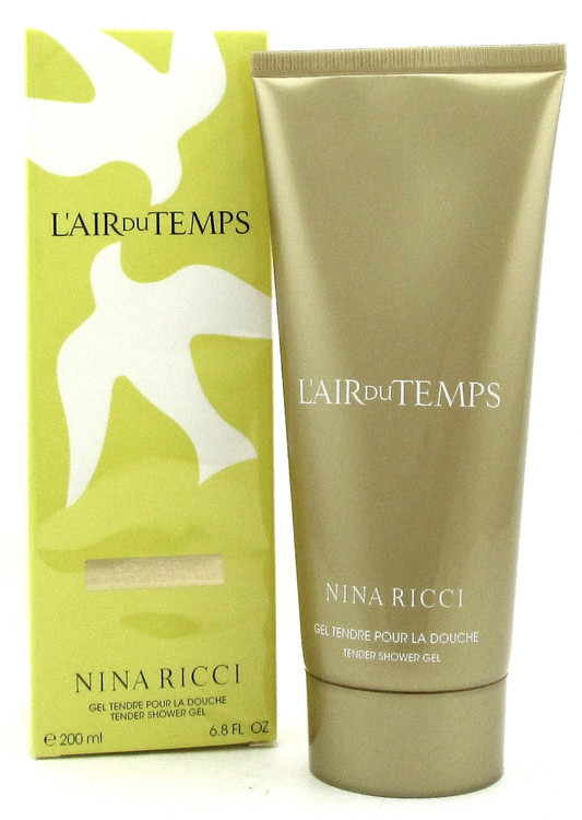L'air du Temps by Nina Ricci 6.8 oz Tender Shower Gel for Women. New Sealed Box.
