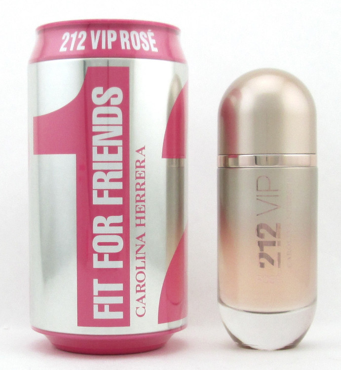 212 VIP Rose by Carolina Herrera EDP Spray Fit For Friends Edition for Women 2.7 oz./ 80 ml.
