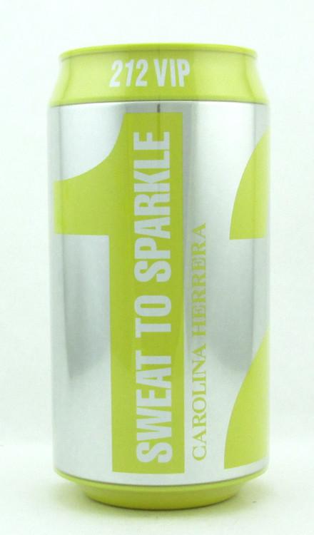 "212 VIP by Carolina Herrera Eau De Parfum Spray for Women ""Sweat To Sparkle"" Edition 80 ml./ 2.7 oz. NIB"