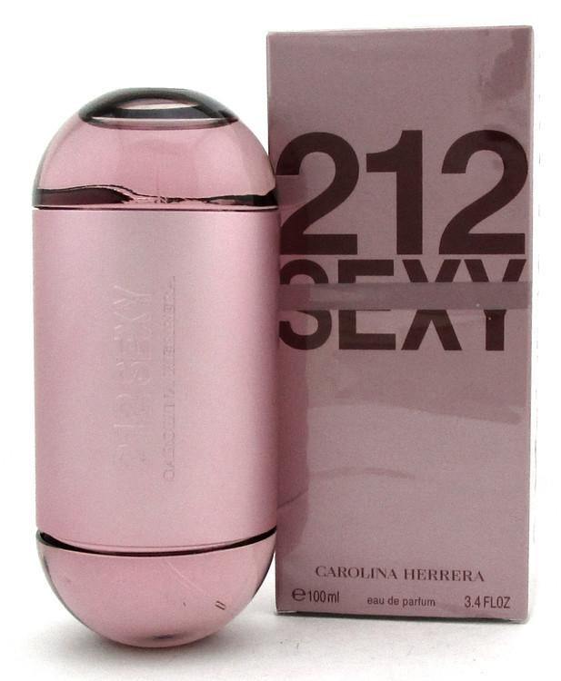212 Sexy Perfume by Carolina Herrera 3.4 oz. EDP Spray for Women.New.Damaged Box